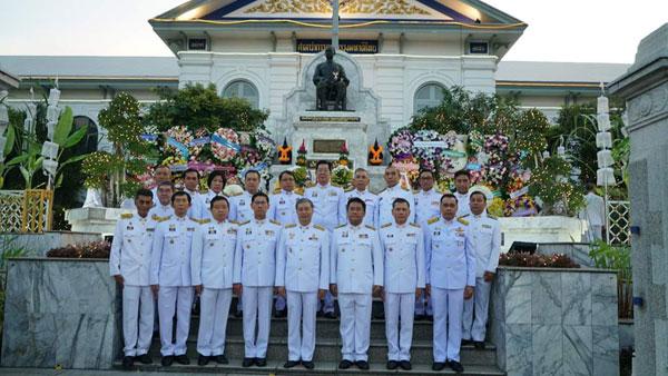 """รัฐมนตรีว่าการกระทรวงมหาดไทย ประธานในพิธีเนื่องในโอกาส """"วันดำรงราชานุภาพ"""""""