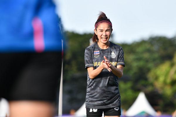 """ไม่หวั่นพายุ """"กาญจนา"""" หวังคว้าเหรียญทองเพื่อเป็นของขวัญให้แก่แฟนบอลชาวไทย"""