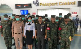 ทัพเรือภาคที่ ๓ ปฏิบัติภารกิจคัดกรองนักท่องเที่ยวการแพร่ระบาดของเชื้อไวรัสโคโรนา