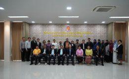 ผู้แทนพิเศษของรัฐบาลประชุมโครงการเสริมสร้างความร่วมมือด้านการศึกษาระหว่างประเทศเพื่อความมั่นคง
