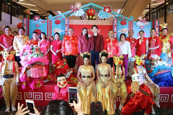 ผวจ.สุราษฎร์ธานีร่วมเปิดงานThe Great China Bazaar 2020