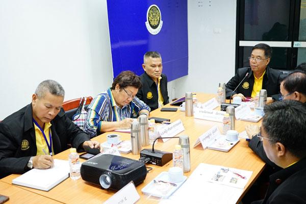 ผู้แทนพิเศษของรัฐบาลประชุมกับส่วนราชการที่เกี่ยวข้องกับงานด้านการข่าวในพื้นที่ จชต.