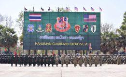 """เปิดฉากแล้ว """"หนุมาน การ์เดียน"""" 2020 การฝึกร่วมผสม ระหว่างกองทัพบกไทยและกองทัพบกสหรัฐฯ"""