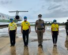 ตำรวจภูธรภาค 9 ร่วมตรวจเยี่ยมโครงการฟาร์มตัวอย่างต้านภัยโควิด 19 ในพื้นที่ของ ภ.9