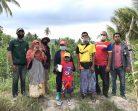 มรภ.สงขลา เสริมรายได้เกษตรกรเกาะแต้ว ปลูกพืชหลังนาอินทรีย์