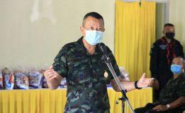 แม่ทัพภาคที่ 4 ลงพื้นที่พบปะเยี่ยมเยียนให้กำลังใจพี่น้องประชาชนชาวไทยพุทธ บ้านเหมืองลาบู จังหวัดยะลา