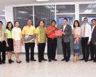 ผอ.(ต) สำนักงานบริการลูกค้า กสท.เขตใต้ ร่วมแสดงความยินดีกับผู้จัดการฝ่ายไปรษณีย์เขต 9 คนใหม่