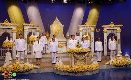 นายกเทศมนตรีนครสงขลาร่วมบันทึกเทปรายการพิเศษถวายพระพร รัชกาลที่ 10