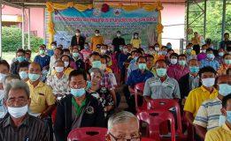 วุฒิสภาเข้าร่วมประชุมเครือข่ายศูนย์ข้าวชุมชนระดับจังหวัด