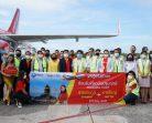"""สายการบินไทยเวียตเจ็ทเปิดเที่ยวบินปฐมฤกษ์ """"สุวรรณภูมิ-หาดใหญ่"""""""
