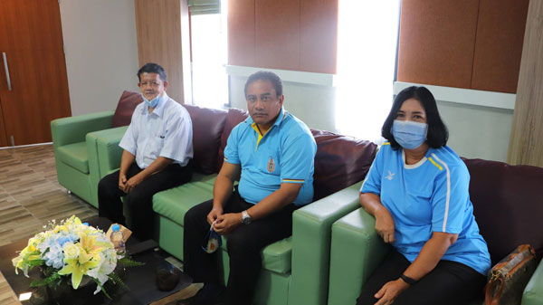 เทศบาลเมืองคอหงส์จัดประชุมอาสาสมัครสาธารณสุข เทศบาลเมืองคอหงส์ ครั้งที่ 9/2563