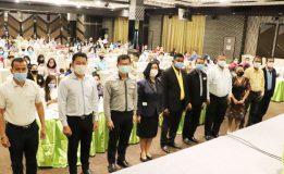 เทศบาลเมืองคอหงส์จัดพิธีเปิดการประชุมจัดทำแผนสุขภาพ ประจำปี 2564