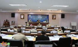 เทศบาลนครสงขลาจัดประชุมสภาเทศบาลนครสงขลา สมัยสามัญ สมัยที่ 3 ประจำปี พ.ศ. 2563