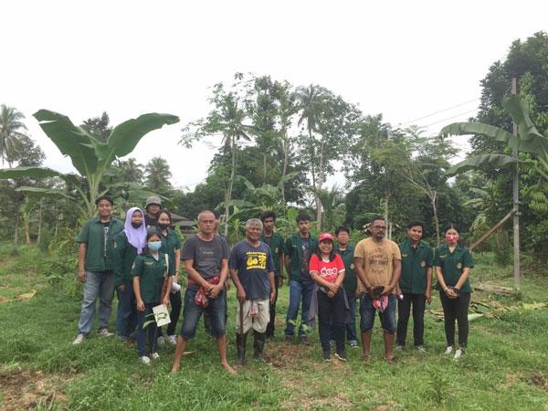 คณะเทคโนโลยีการเกษตร มรภ.สงขลา ลงพื้นที่บริการวิชาการ ต.ทุ่งลาน สนับสนุนชุมชนพัฒนาอาชีพ ปลูกกาแฟเสริมรายได้ในสวนยาง