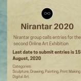 นศ.ทัศนศิลป์ มรภ.สงขลา ร่วมแสดงผลงานนิทรรศการ Nirantar 2020