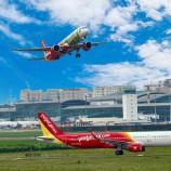 เวียตเจ็ทจะเริ่มกลับมาให้บริการเที่ยวบินระหว่างประเทศจากเวียดนาม กันยายนนี้  และได้ให้บริการเที่ยวบินภายในประเทศทุกเส้นทางตามปกติ