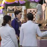 สมเด็จพระนางเจ้า ฯ พระบรมราชินี เสด็จเยี่ยมชมนิทรรศการ มรภ.สงขลา