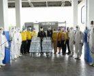 ท่าอากาศยานหาดใหญ่ทำความสะอาดพร้อมฉีดพ่นยาฆ่าเชื้อในการป้องกันการแพร่ระบาดของโรคติดเชื้อไวรัสโคโรนา (COVID-19)