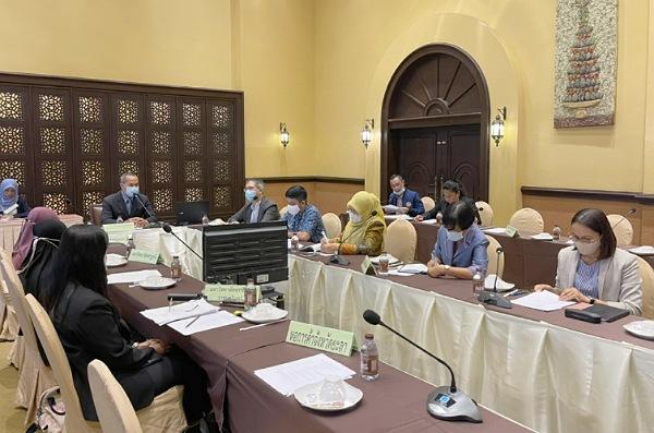 อธิการ มรภ.สงขลา ร่วมประชุมรับฟังความคิดเห็น จัดทำร่างยุทธศาสตร์พัฒนาจังหวัดชายแดนภาคใต้