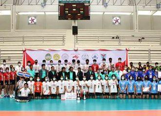 """เทศบาลนครหาดใหญ่เข้าร่วมพิธีปิดและพิธีมอบรางวัล """" การแข่งขันวอลเลย์บอลยุวชน อายิโนะโมะโต๊ะ รุ่นอายุไม่เกิน 14 ปี ครั้งที่ 2 (ปีที่ 30) """""""