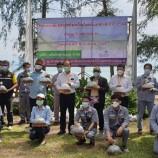 บริษัท ผลิตไฟฟ้าขนอม จำกัด จัดโครงการปล่อยพันธ์กุ้งแชบ๊วยในธรรมชาติ ประจำปี 2564 ครั้งที่ 1